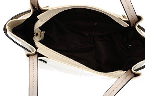 Borsa donna a spalla PIERRE CARDIN beige con apertura zip VN1238