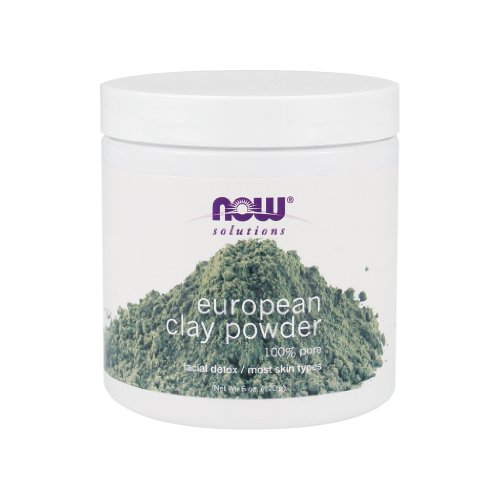 Now Foods European Clay Powder - 6 oz. 12 Pack