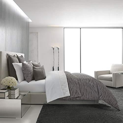 Vera Wang Burnished Quartz Comforter Set, King, Dark - Comforter Vera