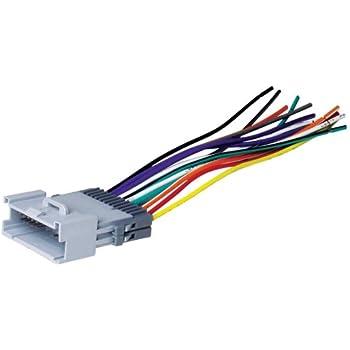 Amazon.com: Metra 70-1858 Radio Wiring Harness For GM 88-05 Harness on