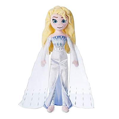Disney Elsa The Snow Queen Plush Doll – Frozen 2 – Medium – 18'' inches: Toys & Games