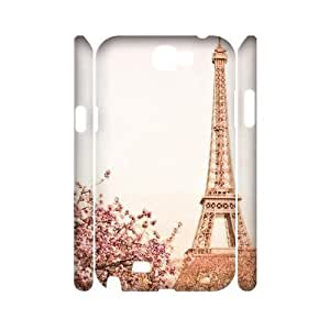 Flower Paris Brand New 3D For Case HTC One M7 Cover ,diy ygtg619094