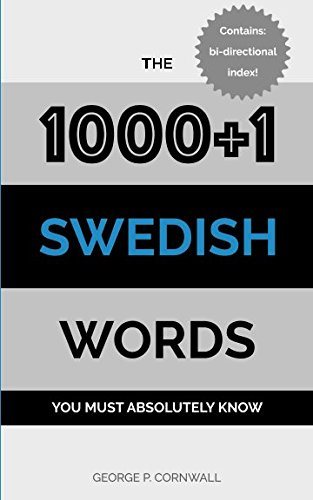 The 1000+1 Swedish Words You Must Absolutely Know