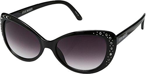 Steve Madden Unisex SM1623 Black Sunglasses
