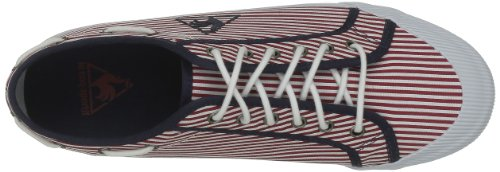 Le Coq Sportif Sneaker Deauville Stripes Blau - Bleu (Eclipse/Rouge)