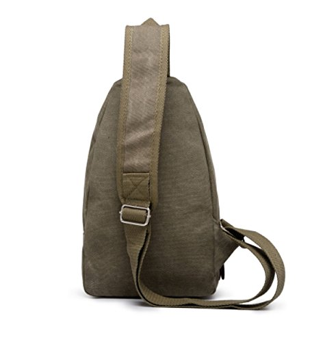 Sportsman Men Bag Riding A Canvas Casual Laidaye Shoulder Small Messenger 5 Chest RTHq0