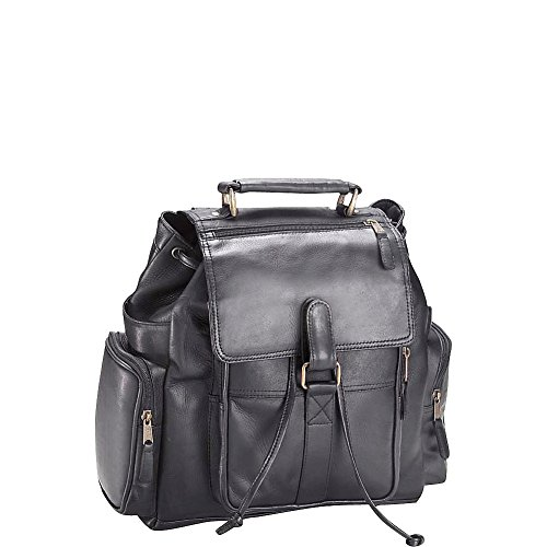 (Clava Vachetta Leather Urban Survival Backpack (Vachetta Black))