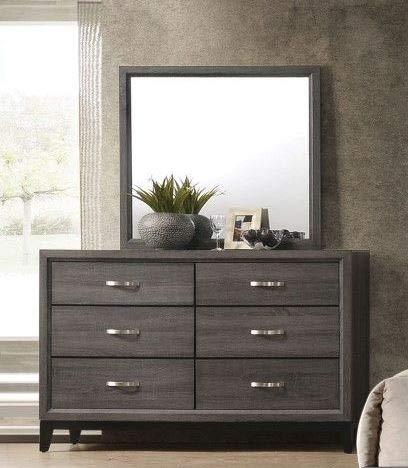 ACME Furniture 27055 Valdemar Dresser Weathered Gray
