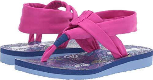 Skechers Heart Girls - Skechers Kids Girl's Meditation 86992L (Little Kid/Big Kid) Hot Pink/Navy 3 M US Little Kid
