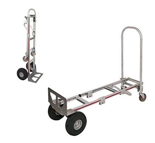 Magliner Gemini Convertible Sr Hand Truck Works in 2-Position, Flat Free Tires by Gemini Kaleidoscopes (Image #2)