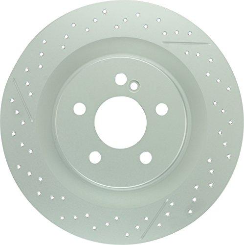 Bosch 36011506 QuietCast Premium Disc Brake Rotor For Mercedes-Benz: 2005-2006 CLK55 AMG, 2007-2008 CLK63 AMG, 2005-2010 SLK55 AMG; Rear