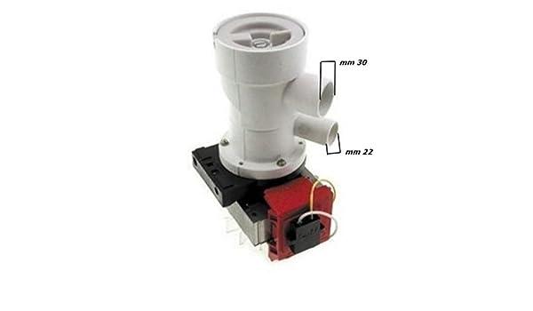Bomba para lavadora INDESIT con filtro CD 82040100: Amazon.es: Hogar
