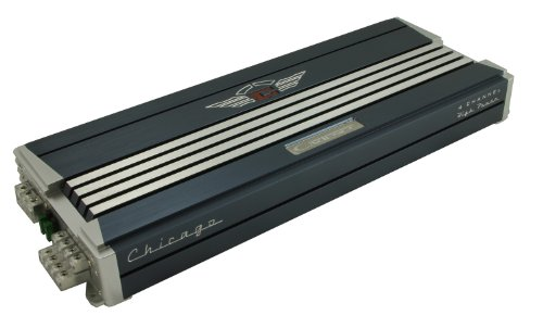 - Cadence Acoustics Chicago 1200 Watts PEAK Class AB 4-Channel Amplifier