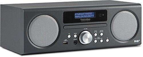 TechniSat TechniRadio Digit CD - Digitalradio (10 Watt RMS, DAB+, DAB, PLL-UKW Tuner, CD/MP3 Player, USB) anthrazit