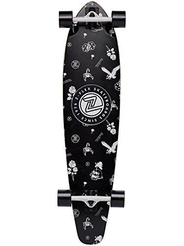- Z-Flex Roundtail Longboard - Rolling Bones