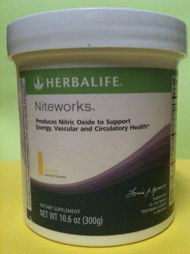 Niteworks Powder - Herbalife Niteworks Powder Mix - Orange-Mango, 30-day supply