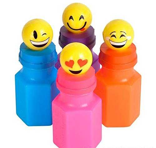 DollarItemDirect 3 inches Emoticon Bubbles (24 pcs), Case of 12