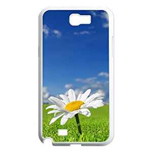 Daisy Flower Samsung Galaxy N2 7100 Cell Phone Case White fucc