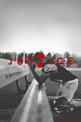 Power 7 Logo Justice Player Kneeling Mural Giant Poster 36x54 Inch