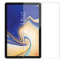 Colorcase Tempered Glass Screenguard for Samsung Galaxy Tab S4 10.5 Tablet SM-T830 SM-T835 - [Transparent}