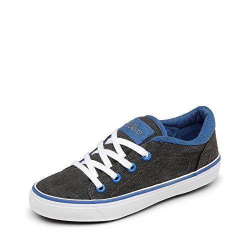 s.Oliver - Zapatillas de tela para niño antracita / turquesa