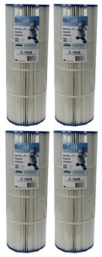 4 New Unicel C-7656 Hayward CX500RE Star Clear Replacement Swimming Pool Filters by Cinderella - Unicel