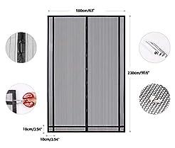 Sekey Magnetic Screen Door with Heavy Du...