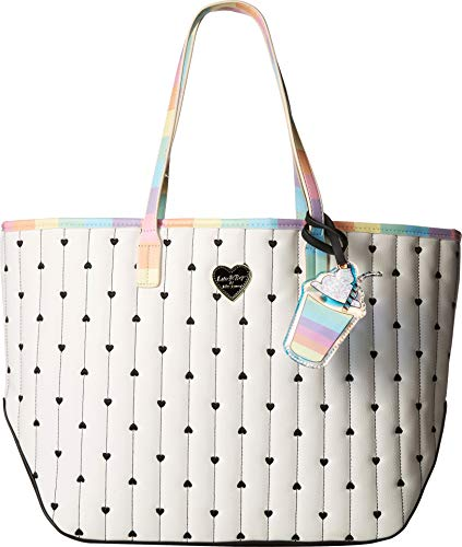 Luv Betsey Women's Suzie Tote Hearts Multi One ()