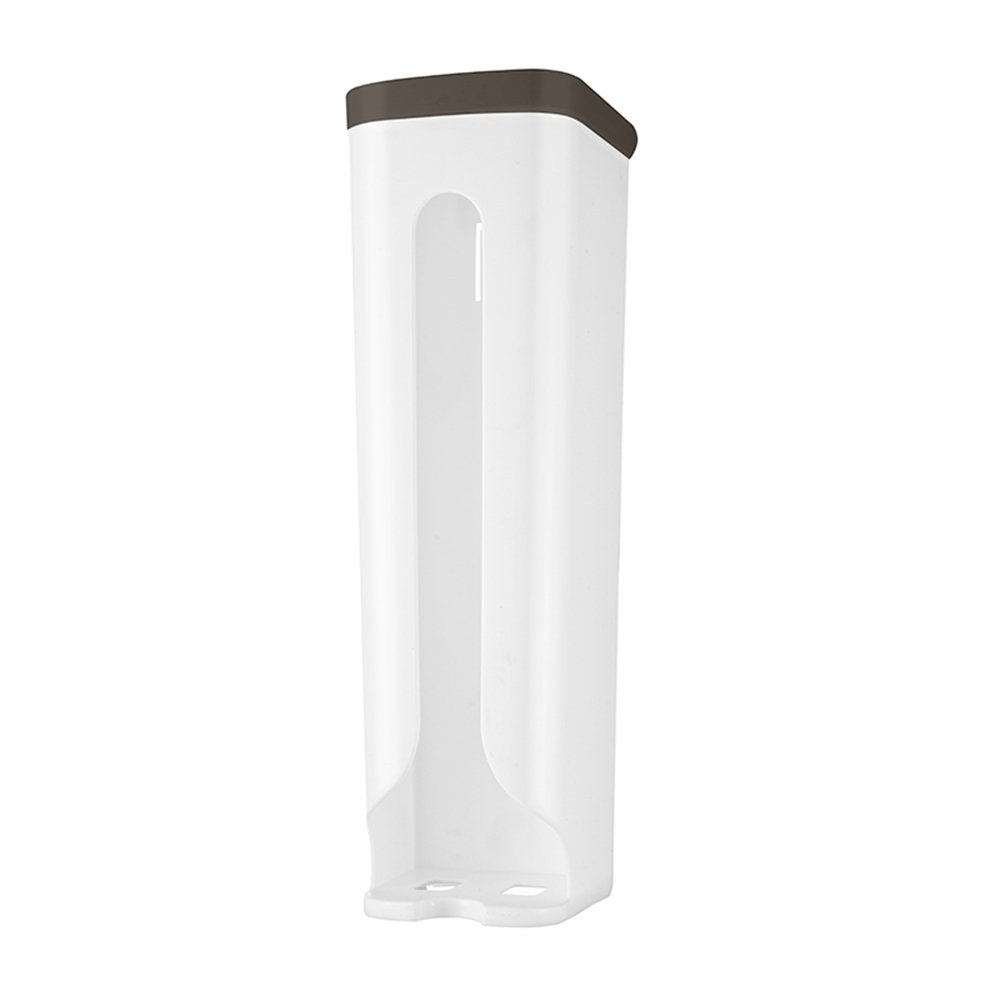 KINGSUNG Garbage Bag Holder Rubbish Bags Dispensers Modern Kitchen Plastics Recycling Grocery Pocket Containers Organizers