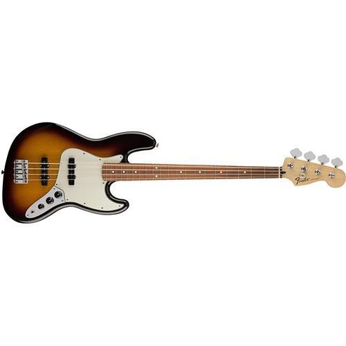 Fender Standard Jazz Electric Bass Guitar - Pau Ferro Fingerboard, Brown Sunburst by Fender