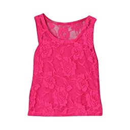 Hot pink Girls Lace Tank & Camisole, Size 3