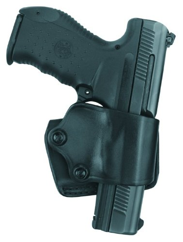 Kimber Compact Holster - G&G Black Yaqui Slide Holster-Fits Most 1911 Type Pistols RH