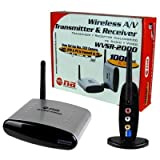 Nippon Wvsr2000 2.4ghz Wireless A/v Transmitter And Receiver