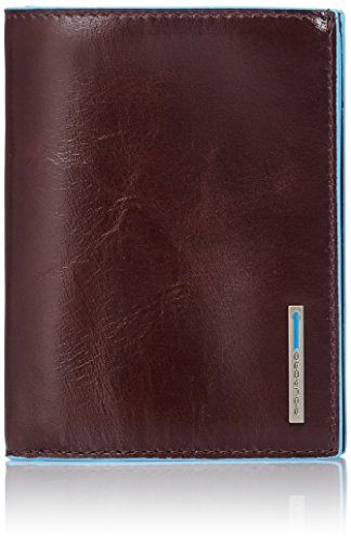 Piquadro Leather Man's Wallet, Mahogany, One Size by Piquadro