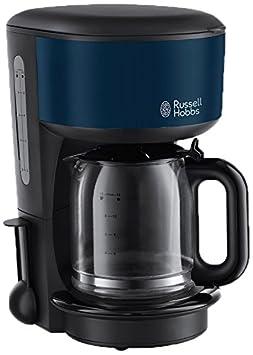 Russell Hobbs 20134-56 Cafetera de filtro, color azul, 1.25 litros ...