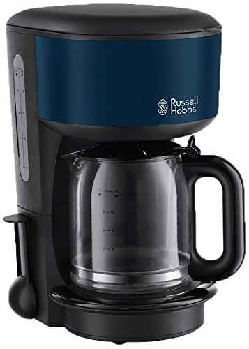 Russell Hobbs 20134-56 Cafetera de filtro, color azul, 1.25 litros, Royal Blue