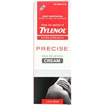 Tylenol Precise Pain Relieving Cream  2.5 Ounce (Pack of 2)