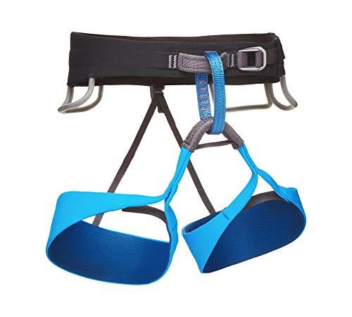 Black Diamond Solution Climbing Harness - Men's Black/Ultra Blue X-Small