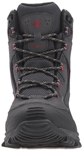 Columbia Mens Bugaboot Ii Snow Boot Shark, Dalia Rossa