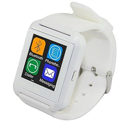 SAMAZ 2014 Fashion Bluetooth Smart Watch WristWatch U8 UWatch Samrt Wrist Watch Phone Mate for Smartphones IOS Android Apple iphone 4/4S/5/5C/5S Samsung S2/S3/S4/Note 2/Note 3 HTC Sony Blackberry