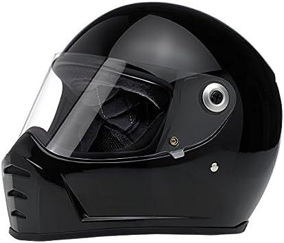 Biltwell Lane Splitter Helmet Flat Black X-Large
