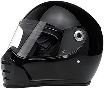 Amazon.es: Casco integral de motocicleta Biltwell Lane Splitter de color negro brillante, extra grande XL