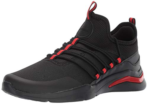 Reebok Men's Royal ASTROSTORM Cross Trainer, Black/China red, 7 M US