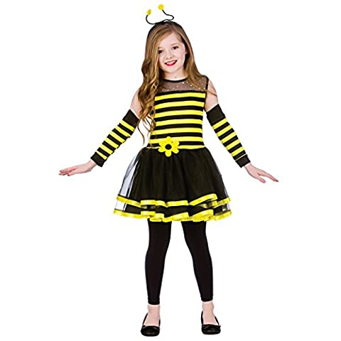 Bumblebee (11-13) Girls Fancy Dress Animal