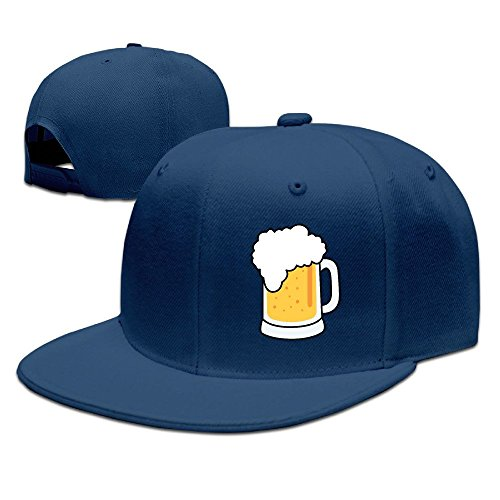 xssyz-i-love-beer-flat-bill-snapback-baseball-cap-navy