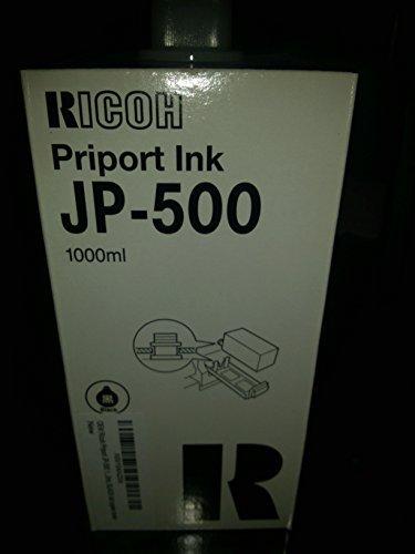 OEM Ricoh Priport JP-500 1000ml. BLACK ink copier ()
