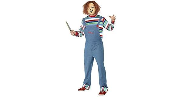 Traje de Chucky el muñeco diabólico disfraz Halloween personaje ...