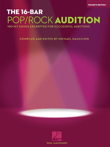 16 bar audition songs - 3