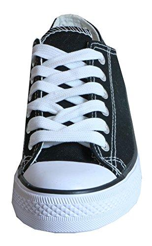 Katie - sportliche Damen Sneaker Schnürschuhe Turnschuhe LOW TOP aus Textil 36 37 38 39 40 41 velour khaki