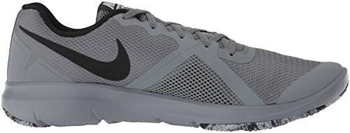 Speed Shoes Fitness Control Flex Cool Men's Ii Nike Grey White Black Red nWRXzOq